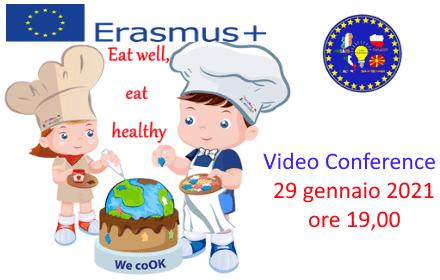 PROGETTO ERASMUS L2BE: Video Conference con i paesi partner