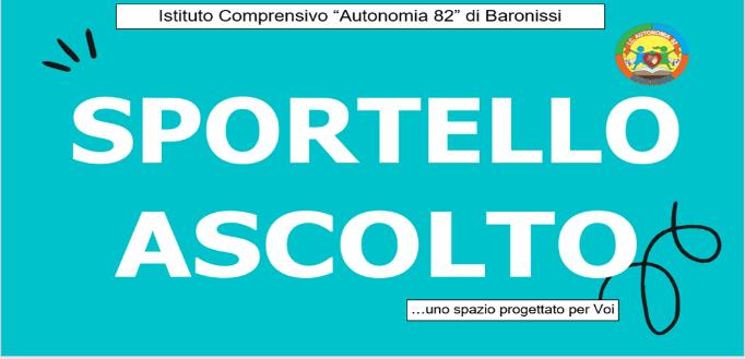 """PROGETTO """"SPORTELLO DI ASCOLTO"""""""