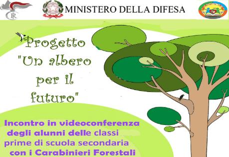 """Cerimonia messa a dimora piante progetto """"Un albero per il futuro"""""""